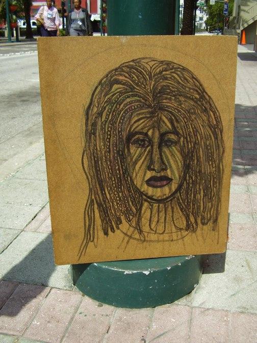Unfinished Portrait - August 2009