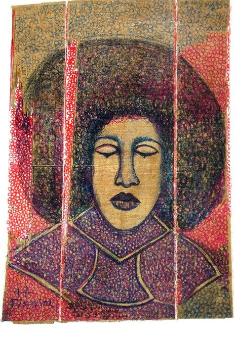 Woman Meditating - spring 2009